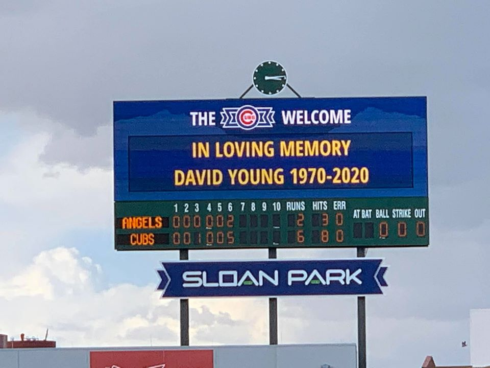 David Eric Young Chicago Cubs