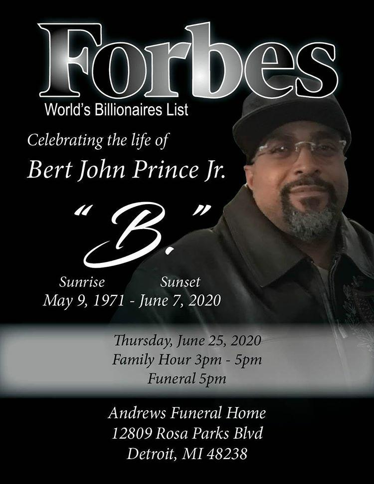 Bert John Prince Jr - Forbes